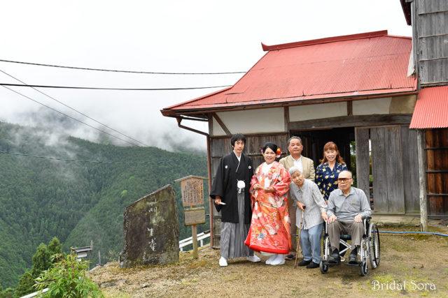西吉野 結婚式 前撮り