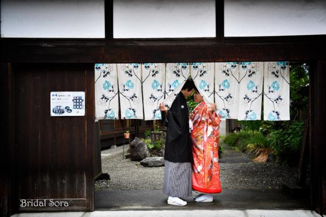 五条新町 結婚写真 ロケーション撮影