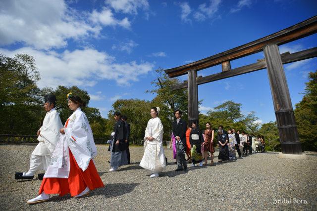 吉野神宮 結婚式 写真