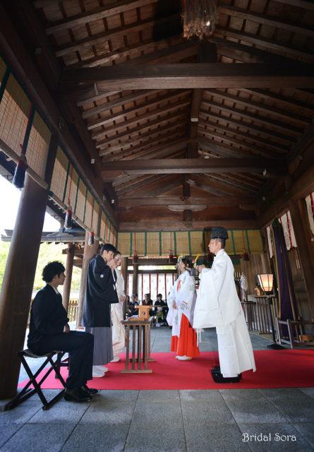 吉野神宮 結婚式 撮影
