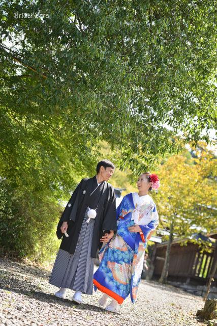 吉野神宮 結婚式 記念写真